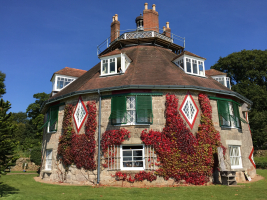 A La Ronde Exmouth Grade 1 Listed external redecoration