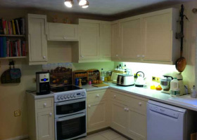 HVLP Spraying Kitchen Unit
