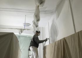 Shop- Airless spraying
